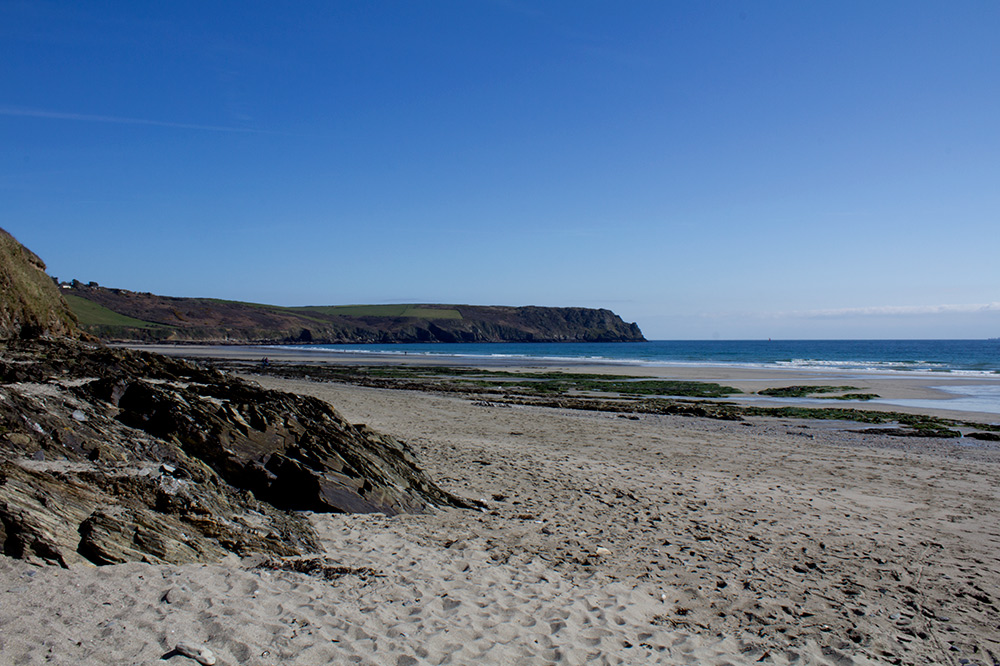 Pendower Beach Cornwall